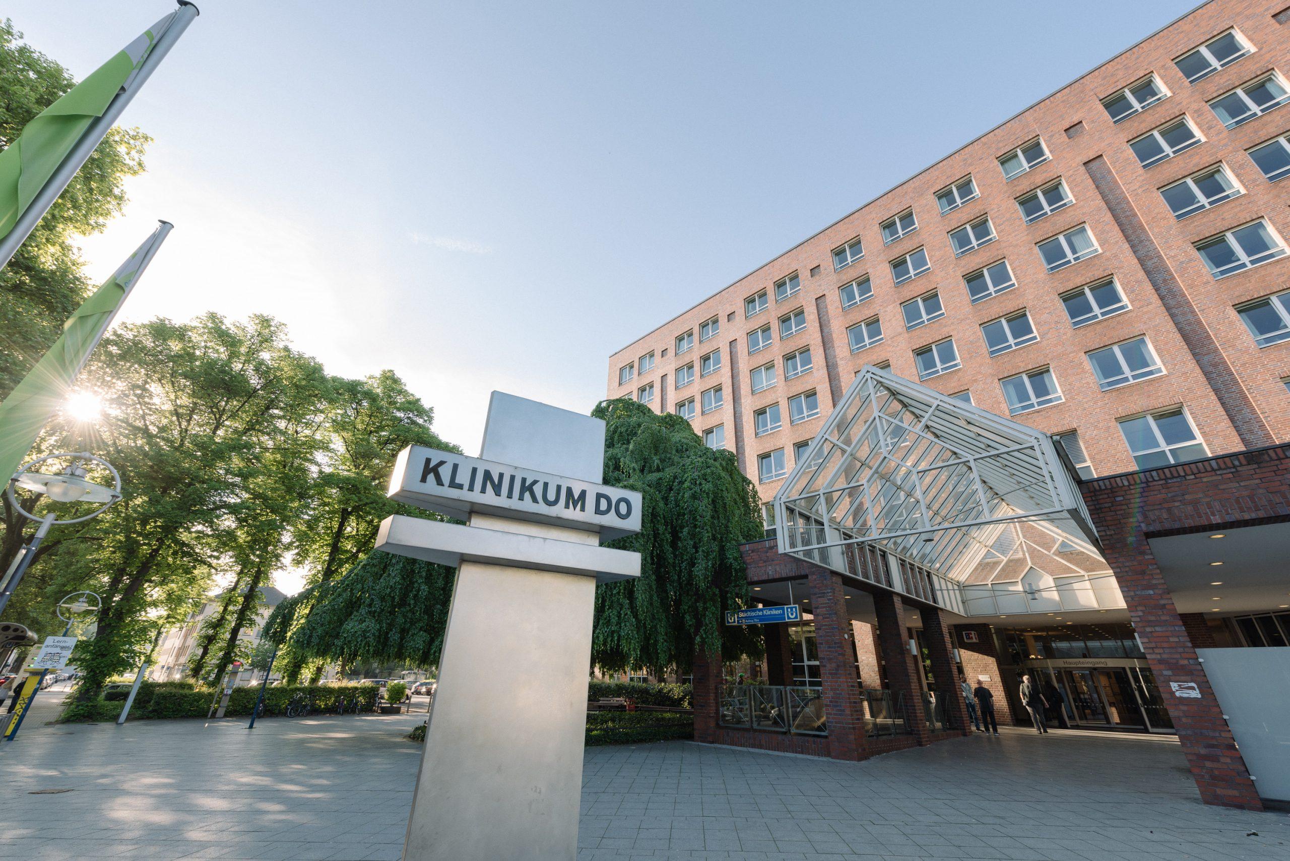 Außenansicht des Klinikums Dortmund